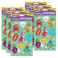 Trend Enterprises T-46357-6 Troll Talk Large Stickers for Grade PK Plus, Multi Color - 72 Cou