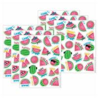 Eureka EU-650932-6 Watermelon Scented Stickers for Grade PK-12, Multi Color - Pack of 6