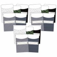 Modern Farmhouse Library Pockets - Multi-Pack, 35 Per Pack, 3 Packs - 1