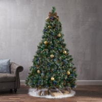 7-foot Cashmere Pine Pre-Lit Clear LED Artificial Christmas Tree