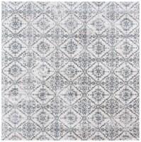 Safavieh Martha Stewart Collection Isabella Square Rug - Cream/Gray - 1 ct