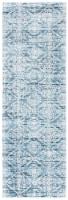 Safavieh Martha Stewart Collection Isabella Floor Runner Rug - Denim Blue/Ivory - 2.17 x 7 ft