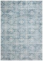 Martha Stewart Collection Isabella Area Rug - Denim Blue/Ivory - 5.25 x 7.58 ft