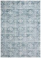 Safavieh Martha Stewart Collection Isabella Area Rug - Denim Blue/Ivory - 8 x 10 ft