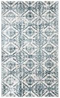 Safavieh Martha Stewart Collection Isabella Accent Rug - Navy/Ivory - 3 x 5 ft