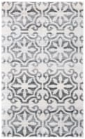 Martha Stewart Collection Isabella Accent Rug - Gray/Ivory - 3 x 5 ft