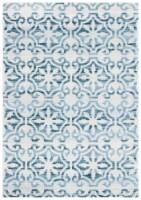 Safavieh Martha Stewart Collection Isabella Accent Rug - Navy/Ivory - 4 x 6 ft