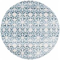 Safavieh Martha Stewart Collection Isabella Round Rug - Navy/Ivory - 1 ct