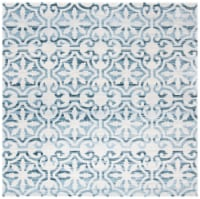 Safavieh Martha Stewart Collection Isabella Square Rug - Navy/Ivory - 1 ct