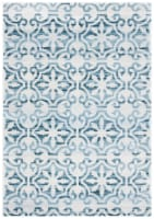 Safavieh Martha Stewart Collection Isabella Area Rug - Navy/Ivory - 8 x 10 ft