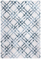 Safavieh Martha Stewart Collection Isabella Accent Rug - Ivory/Turquoise - 4 x 6 ft