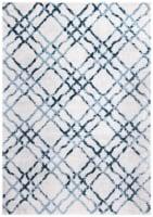 Safavieh Martha Stewart Isabella Rug - Ivory/Turquoise - 5.25 x 7.58 in