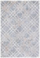 Martha Stewart Isabella Rug - Silver/Ivory - 8 x 10 ft