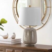 Brixton Ceramic Table Lamp Cream / Blue - 1 unit