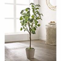 Faux Polyscias Fruticosa Potted Tree - 1 unit