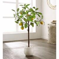 Faux Lemon Potted Tree - 1 unit
