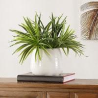 Faux Orchid Potted Plant - 1 unit