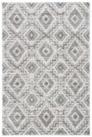Safavieh Martha Stewart Collection Lucia Shag Accent Rug - Dark Gray/Light Gray - 4 x 6 ft