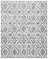 Martha Stewart Collection Lucia Shag Area Rug - Dark Gray/Light Gray - 9 x 12 ft