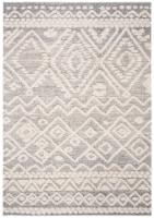 Martha Stewart Collection Lucia Shag Accent Rug - Beige/White - 4 x 6 ft