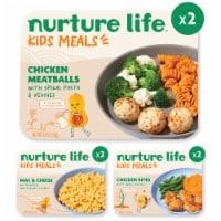 Nurture Life Healthy Toddler & Kid Food Picky Eater 5-Meal Variety Pack, Organic Focus