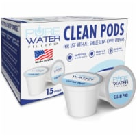 Clean Pods for Use with All Single-Serve Coffee Brewers Including Keurig 2.0 K-Cup, 15 Count - 15 Count (Pack of 1)