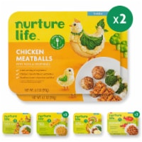 Nurture Life Healthy Toddler & Kid Food Favorites 8-Meal Variety Pack, Organic Focus