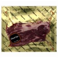 Chuck Eye Boneless Beef Steak (Single) - $6.99/lb