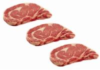 Beef Select Boneless Ribeye Steak Value Pack (About 3 per Pack)