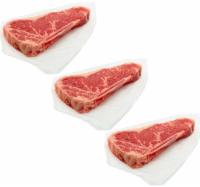 Beef Choice Strip Steak Family Pack Bone In
