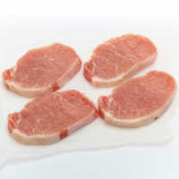 Natural & Fresh Pork Boneless Center Cut Chops (About 4 Chops per Pack)