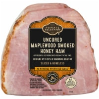 Private Selection® Uncured Maplewood Smoked Honey Ham - $5.49/lb