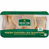 Heritage Farm Chicken Leg Quarters (4-5 per Pack)