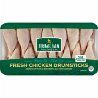 Heritage Farm® Bone In & Skin On Chicken Drumsticks