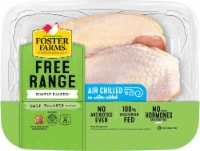 Foster Farms Simply Raised Chicken Half Breasts with Ribs