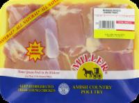 Miller Boneless Skinless Chicken Thighs (6-8 per Pack)