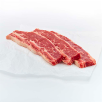 Beef Chuck Bone In Flanken Style Short Ribs - $7.99/lb