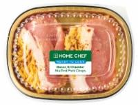 Home Chef Bacon & Cheddar Stuffed Pork Chops
