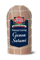 Dietz & Watson Sliced Natural Casing Genoa Salami