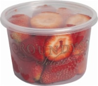 Roundy's Select Medium Strawberries Tips Cup