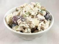 Apple Walnut and Grape Chicken Salad