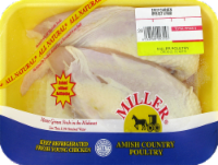 Miller Split Chicken Breast with Rib (2 halves per Pack)