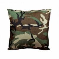 Northlight Seasonal 31370217 17 in. Decorative Wicker Furniture Patio Throw Pillow - Woodland