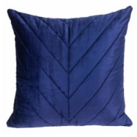 Parkland Collection Tobyn Transitional Blue Throw Pillow - 1