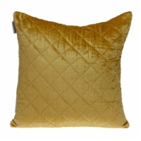 Parkland Collection Milo Transitional Yellow Throw Pillow - 1