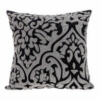 Parkland Collection Carmela Transitional Black Throw Pillow - 1