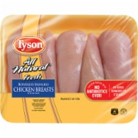 Tyson® All Natural Fresh Boneless Skinless Chicken Breasts