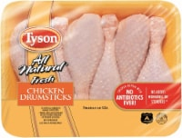 Tyson All Natural Fresh Chicken Drumsticks