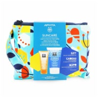 Apivita Suncare Gift Set: Sensitive Face Cream SPF50 50ml + After Sun Cooling CreamGel 100ml