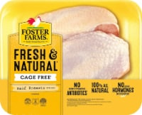 Foster Farm Half Chicken Breasts With Ribs